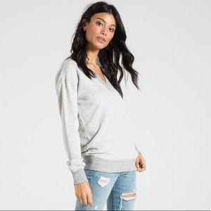 🍂n:PHILANTHROPY🍂 Sterling V-Neck Sweatshirt